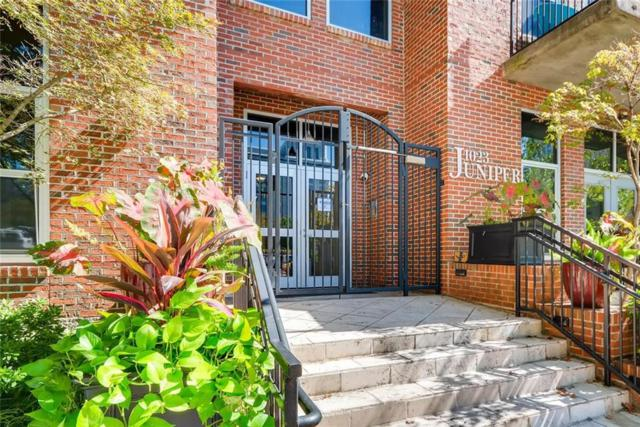 1023 Juniper Street NE #207, Atlanta, GA 30309 (MLS #6087456) :: Keller Williams Realty Cityside