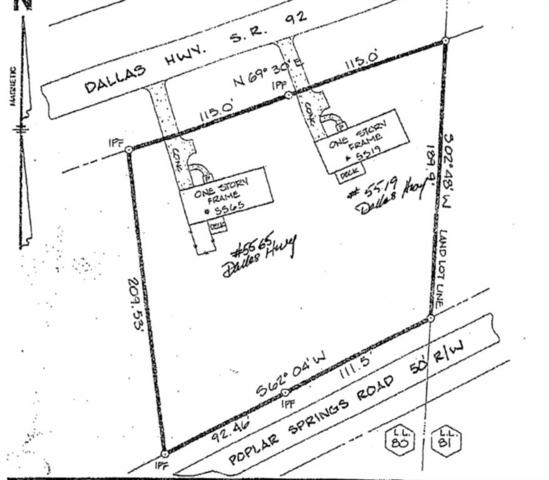 5565 And 5519 Dallas Highway, Dallas, GA 30157 (MLS #6089847) :: Hollingsworth & Company Real Estate