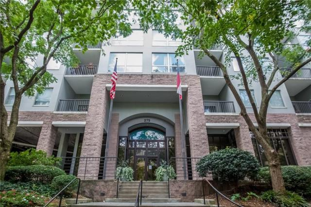 275 13th Street NE #608, Atlanta, GA 30309 (MLS #6090583) :: The Zac Team @ RE/MAX Metro Atlanta