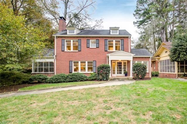 1401 Harvard Road NE, Atlanta, GA 30306 (MLS #6090709) :: Kennesaw Life Real Estate