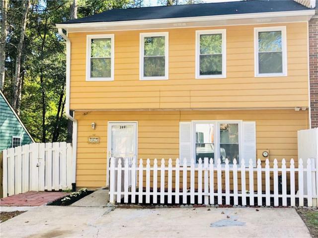 289 Juliet Lane SW, Marietta, GA 30008 (MLS #6090977) :: RE/MAX Paramount Properties