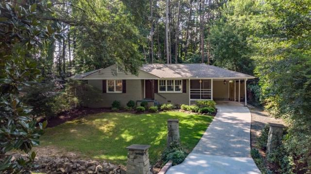 2222 Drew Valley Road NE, Brookhaven, GA 30319 (MLS #6095254) :: The Russell Group
