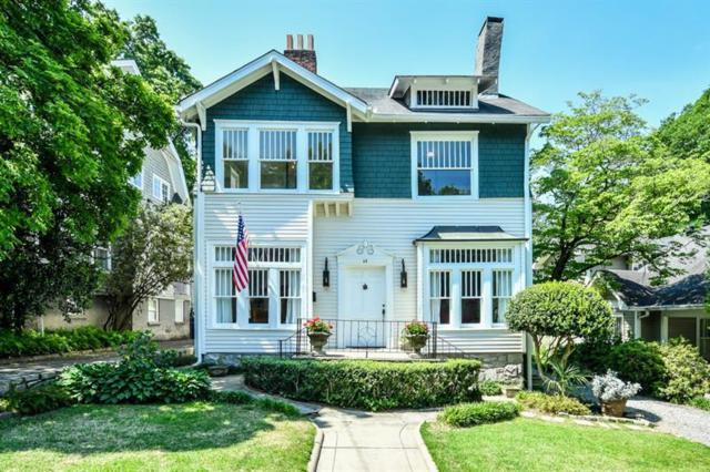 64 The Prado NE, Atlanta, GA 30309 (MLS #6097635) :: Five Doors Roswell | Five Doors Network