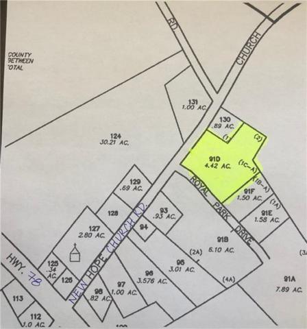 0 Royal Park Drive, Monroe, GA 30656 (MLS #6098430) :: Hollingsworth & Company Real Estate