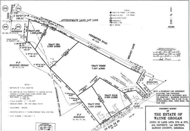 0 Perimeter Road, Dawsonville, GA 30534 (MLS #6102074) :: Hollingsworth & Company Real Estate