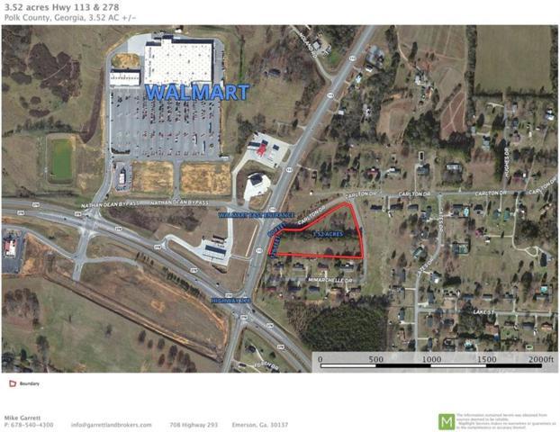 0 Highway 113, Rockmart, GA 30153 (MLS #6102580) :: The Zac Team @ RE/MAX Metro Atlanta