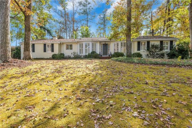 3360 Pine Meadow Road NW, Atlanta, GA 30327 (MLS #6102660) :: The Hinsons - Mike Hinson & Harriet Hinson