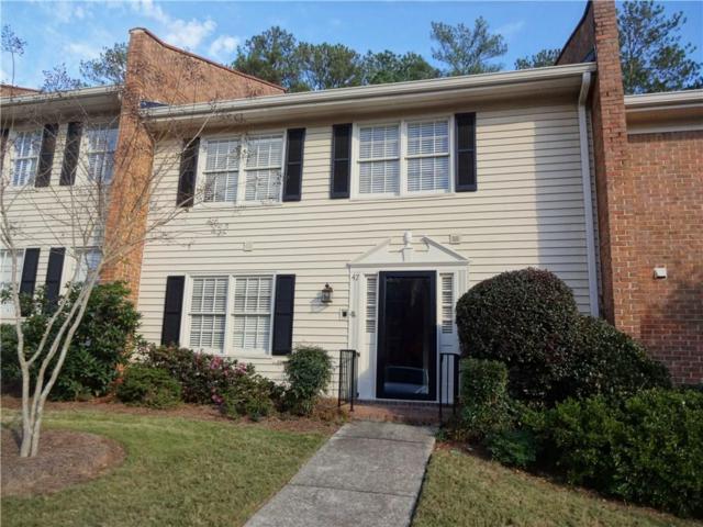 4101 Dunwoody Club Drive #47, Dunwoody, GA 30350 (MLS #6106364) :: North Atlanta Home Team