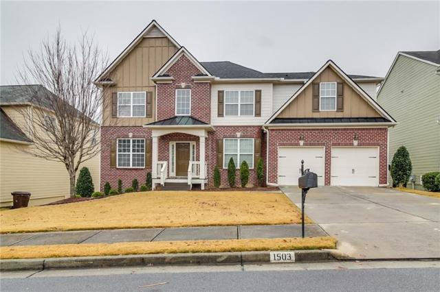 1503 Silver Mist Circle, Powder Springs, GA 30127 (MLS #6108276) :: The Cowan Connection Team