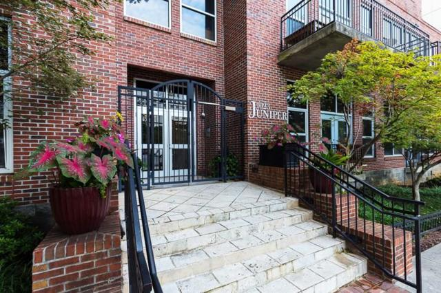 1023 Juniper Street NE #301, Atlanta, GA 30309 (MLS #6108880) :: Rock River Realty