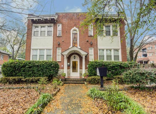 1144 Blue Ridge Avenue NE #6, Atlanta, GA 30306 (MLS #6112075) :: North Atlanta Home Team