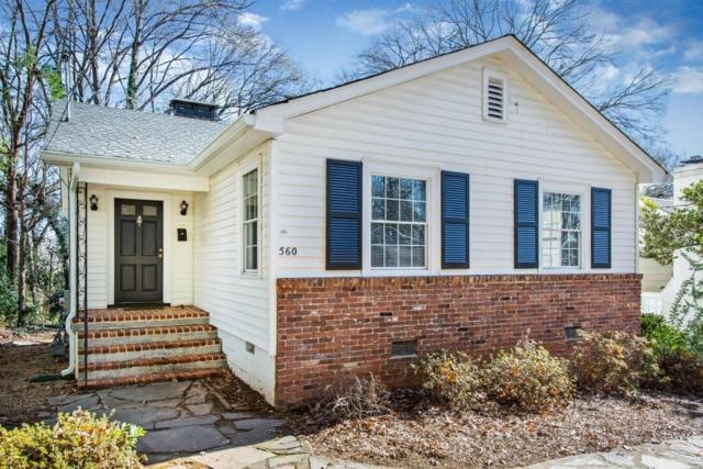 560 Campbell Hill Street NW, Marietta, GA 30060 (MLS #6112105) :: RE/MAX Prestige