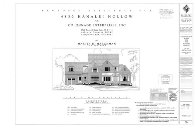 4830 Hanalei Hollow, Suwanee, GA 30024 (MLS #6112110) :: The Cowan Connection Team
