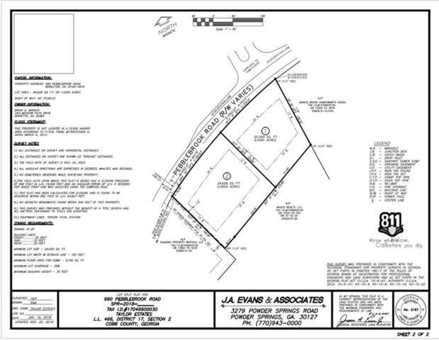 990-A Pebblebrook Road SE, Mableton, GA 30126 (MLS #6112983) :: RE/MAX Paramount Properties