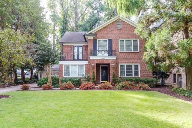 245 Beverly Road NE, Atlanta, GA 30309 (MLS #6116205) :: North Atlanta Home Team