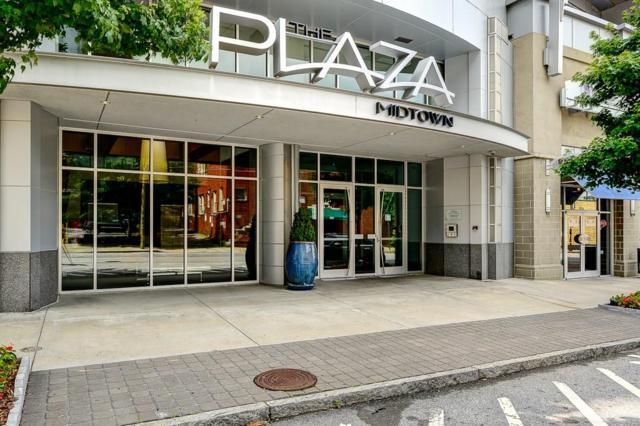 950 W Peachtree Street NE #1612, Atlanta, GA 30309 (MLS #6118107) :: The Zac Team @ RE/MAX Metro Atlanta