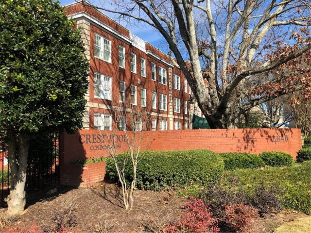 2840 Peachtree Road NW #307, Atlanta, GA 30305 (MLS #6119160) :: The Cowan Connection Team