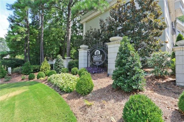 1445 Monroe Drive NE B9, Atlanta, GA 30324 (MLS #6120299) :: North Atlanta Home Team