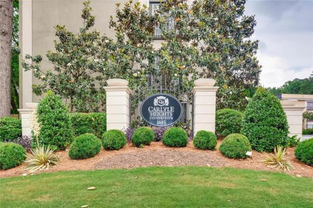 1445 Monroe Drive NE B8, Atlanta, GA 30324 (MLS #6120673) :: Charlie Ballard Real Estate