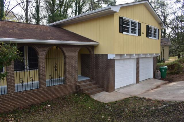 801 Needle Rock Drive, Stone Mountain, GA 30083 (MLS #6121235) :: Path & Post Real Estate