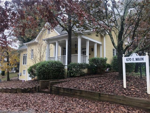 670 E Main Street, Canton, GA 30114 (MLS #6122629) :: Kennesaw Life Real Estate