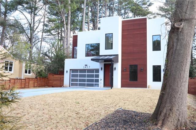 1437 Woodland Hills Drive NE, Atlanta, GA 30324 (MLS #6504413) :: The Zac Team @ RE/MAX Metro Atlanta