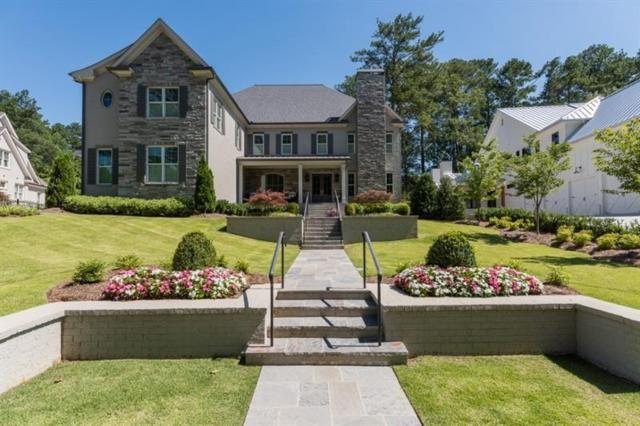 124 Interlochen Drive, Atlanta, GA 30342 (MLS #6504476) :: The Cowan Connection Team