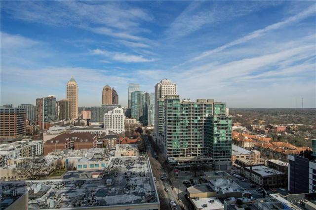 860 Peachtree Street NE #1801, Atlanta, GA 30308 (MLS #6506383) :: The North Georgia Group