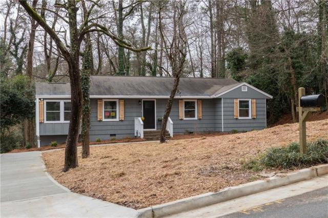 1360 Twin Oaks Circle SE, Smyrna, GA 30080 (MLS #6506792) :: The Cowan Connection Team