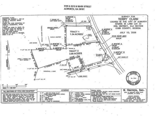 5195 N Main Street, Acworth, GA 30101 (MLS #6509748) :: RE/MAX Paramount Properties