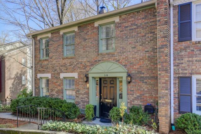 70 Old Ivy Road NE #58, Atlanta, GA 30342 (MLS #6510639) :: The Hinsons - Mike Hinson & Harriet Hinson