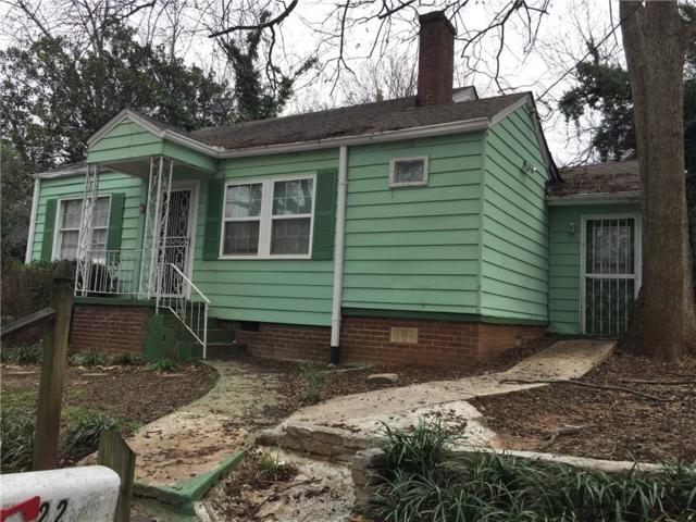 22 Stillman Street SE, Atlanta, GA 30315 (MLS #6515396) :: Kennesaw Life Real Estate
