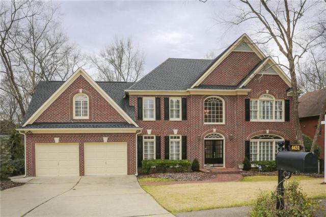 4431 Waterbury Lane, Marietta, GA 30062 (MLS #6518899) :: Kennesaw Life Real Estate