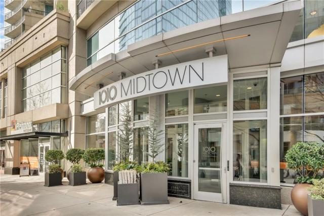 1080 Peachtree Street NE #3412, Atlanta, GA 30309 (MLS #6519480) :: The North Georgia Group
