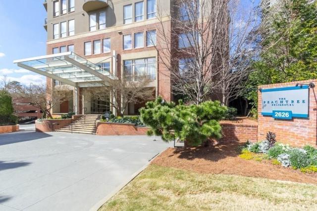 2626 Peachtree Road NW #414, Atlanta, GA 30305 (MLS #6522098) :: The North Georgia Group