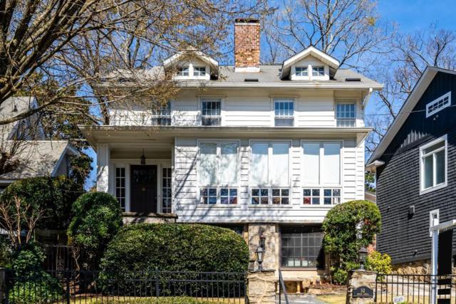 52 Inman Circle NE, Atlanta, GA 30309 (MLS #6522218) :: Charlie Ballard Real Estate
