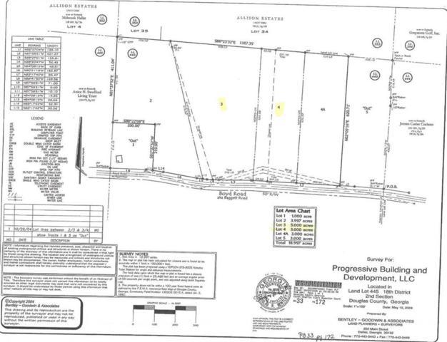 0 Boyd Road, Douglasville, GA 30134 (MLS #6522279) :: The Heyl Group at Keller Williams