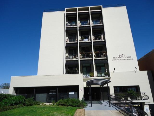 1421 Peachtree Street NE #101, Atlanta, GA 30309 (MLS #6522685) :: Charlie Ballard Real Estate