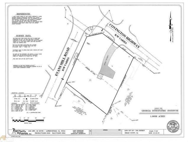 2708 Evans Mill Road, Lithonia, GA 30058 (MLS #6523472) :: Hollingsworth & Company Real Estate