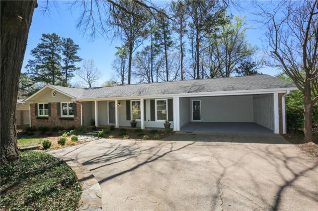 1855 Evergreen Lane, Alpharetta, GA 30009 (MLS #6524325) :: Iconic Living Real Estate Professionals