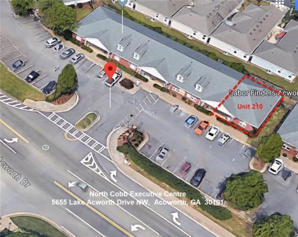 5655 Lake Acworth Drive #210, Acworth, GA 30101 (MLS #6525321) :: The Zac Team @ RE/MAX Metro Atlanta