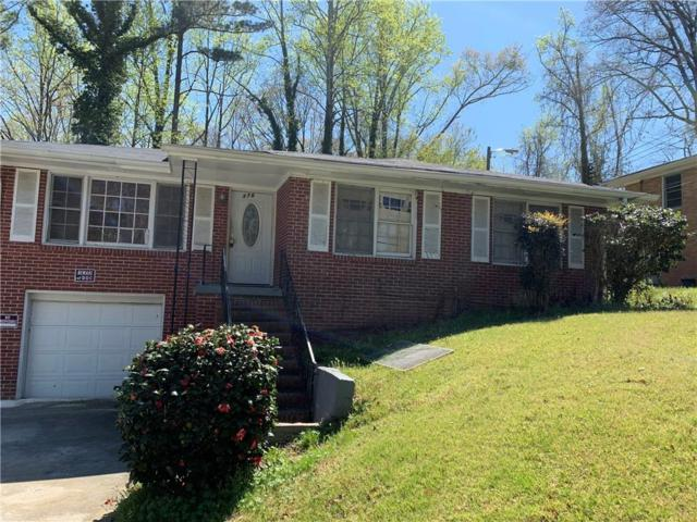 2376 Lilla Circle SW, Atlanta, GA 30310 (MLS #6529483) :: North Atlanta Home Team