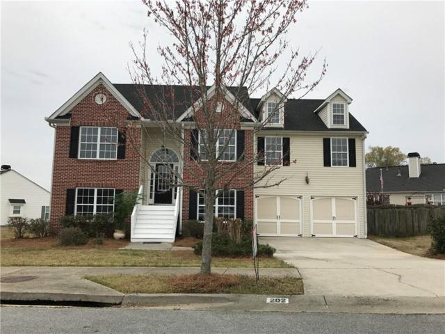 202 Overlook Drive, Dallas, GA 30157 (MLS #6531217) :: The Hinsons - Mike Hinson & Harriet Hinson