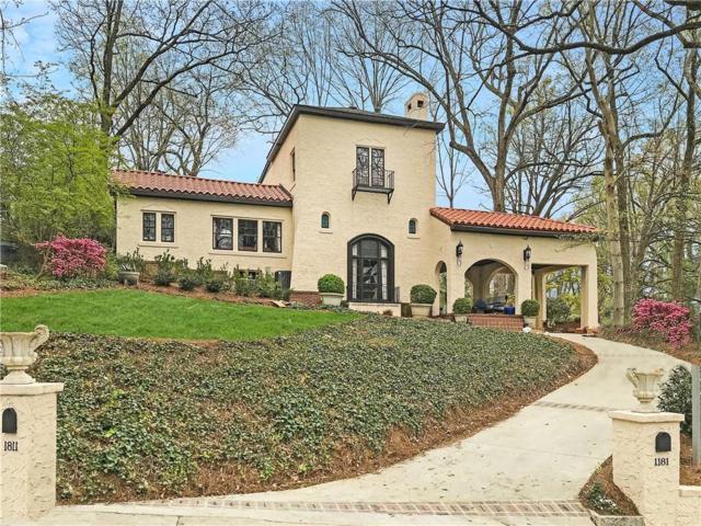 1181 N Decatur Road NE, Atlanta, GA 30306 (MLS #6532018) :: Iconic Living Real Estate Professionals