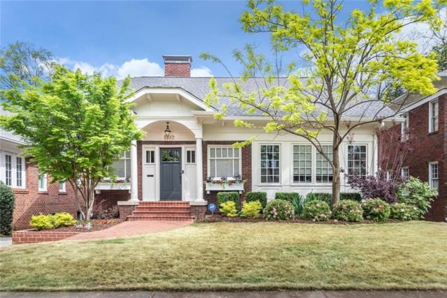 1102 Saint Charles Place NE, Atlanta, GA 30306 (MLS #6534105) :: Iconic Living Real Estate Professionals