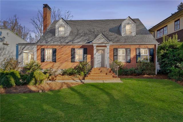 1145 Lanier Boulevard NE, Atlanta, GA 30306 (MLS #6535964) :: Iconic Living Real Estate Professionals