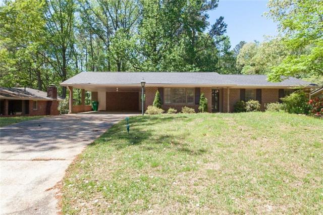 1242 Briarbrook Court, Stone Mountain, GA 30083 (MLS #6536317) :: Ashton Taylor Realty
