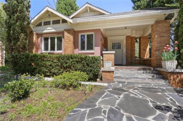 960 Virginia Avenue NE, Atlanta, GA 30306 (MLS #6537547) :: Iconic Living Real Estate Professionals