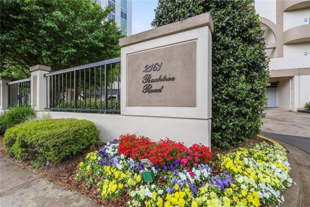 2161 Peachtree Road NE #606, Atlanta, GA 30309 (MLS #6538186) :: The Zac Team @ RE/MAX Metro Atlanta