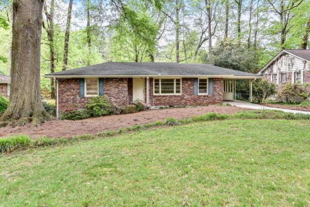 1172 Blueberry Trail, Decatur, GA 30033 (MLS #6539452) :: The Hinsons - Mike Hinson & Harriet Hinson